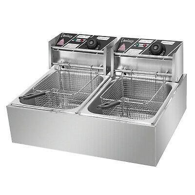 Ad Ebay Url Electric Fryer 5000w Max 110v 12 7qt 12l Stainless