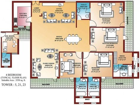 Bedroom Home Blueprints Small House Plans All Rooms Suite Cross Ventilated Kitchen And Etc