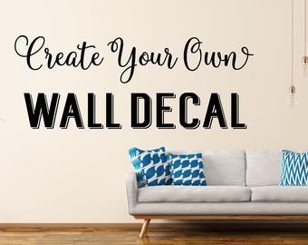Make Your Wall Beautiful With Custom Wall Decals Monogram Wall Decals Custom Wall Decals Monogram Wall