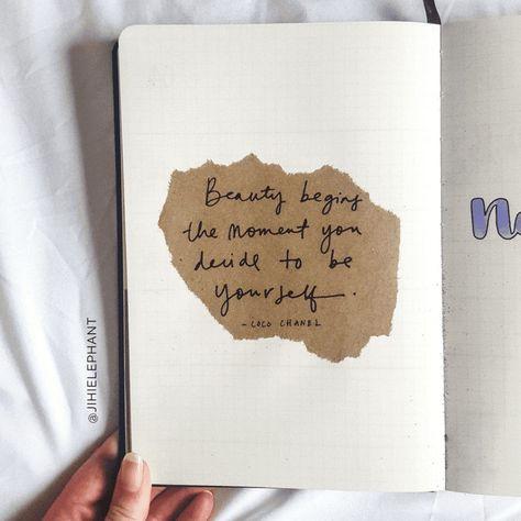 Maddie's Purple Nature Bullet Journal | ElizabethJournals