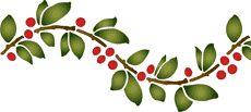 kirsikkaaalto, boordinauha   kaavain kirsikkaaalto, boordinauha   sisustus, koristeluun ja maalaus : SABLONIMAALAUS