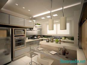 Latest Kitchen Pop Design And False Ceiling Designs Catalogue 2019 In 2020 Latest Kitchen Designs Kitchen Design Small Kitchen Renovation