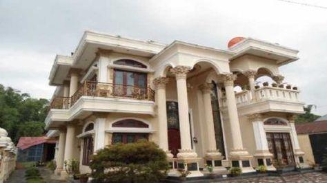 gambar desain rumah mewah eropa 2 lantai   house exterior