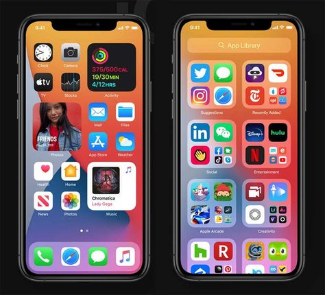 Iphone Home Screen Layout, Iphone App Layout, Ios 7 Design, Design Design, Mobile Ui Patterns, Iphone Hacks, Phone Organization, Apple Products, New Iphone