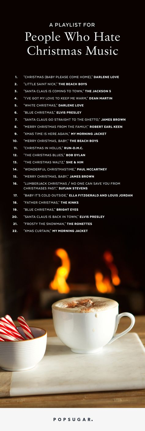A Playlist For People Who Hate Christmas Music