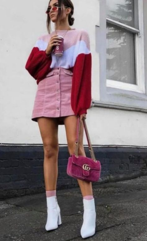 Sweet and cool pink outfit inspire - mode