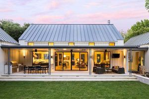Dream House Tour An Exceptional Modern Farmhouse In Rural Texas Modern Farmhouse Floors Modern Farmhouse Exterior Modern Farmhouse Plans