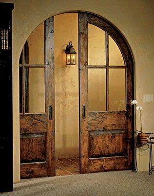 Pocket Doors Or I Have The Arch Doorway Already Now I Need Those Doors Pocket Doors Doors House Design