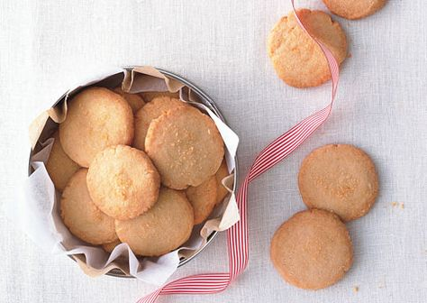 Savory Parmesan Shortbread Rounds Serving Suggestion: With ...