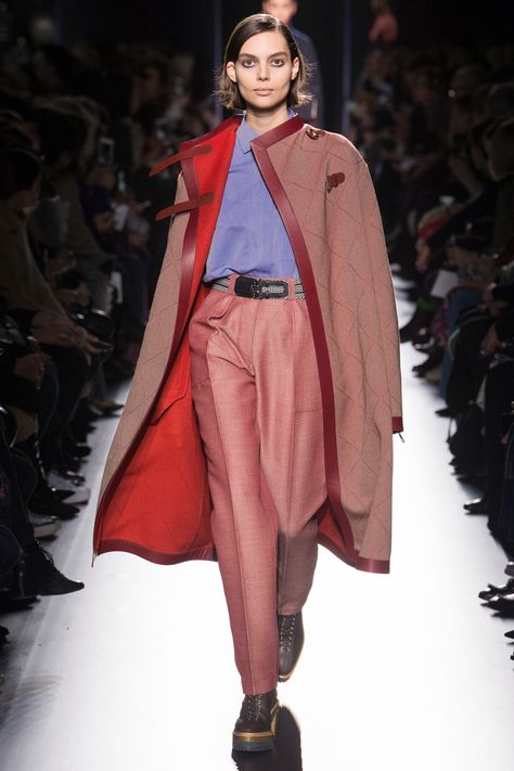 That coat and pants in Hermès Fall 2017 Ready-to-Wear collection.