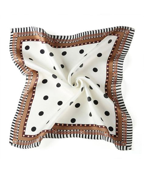 Shop Satin Silk Neckerchiefs Sundayrose Womens Floral Small Square Scarf Handbag Scarves Round White Black and find the top most popular items of Fashion Scarves enjoy up to off.