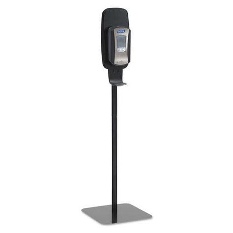 Ltx Or Tfx Touch Free Dispenser Floor Stand Black 23 3 4 X 16 3