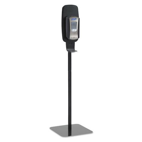 Ltx Or Tfx Touch Free Dispenser Floor Stand Black 23 3 4 X 16 3