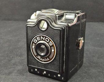 Genos Rapid Genos Camera Vintage Camera Box Camera German Camera Vintage Photography Photography Bakelite Viewfinder Vintage Cameras Box Camera Vintage Camera