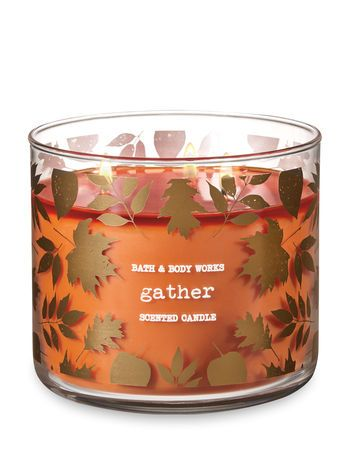 FIRESIDE COMFORT Large 3-Wick Filled Candle 1 Bath /& Body Works WARMTH