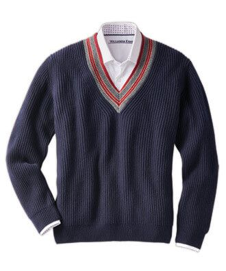 Johnstons Of Elgin Scottish Cashmere V Neck Sweater in 2020