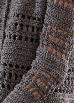Free Crochet Pattern For A Crocheted Jacket Modele Tricotaje