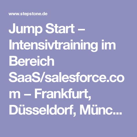 Stepstone Jena