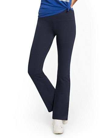 New York And Company Yoga Pants : company, pants, High-Waisted, Bootcut, Company, Ribbed, Sweater,, Pants,, Shoulder, Sweater