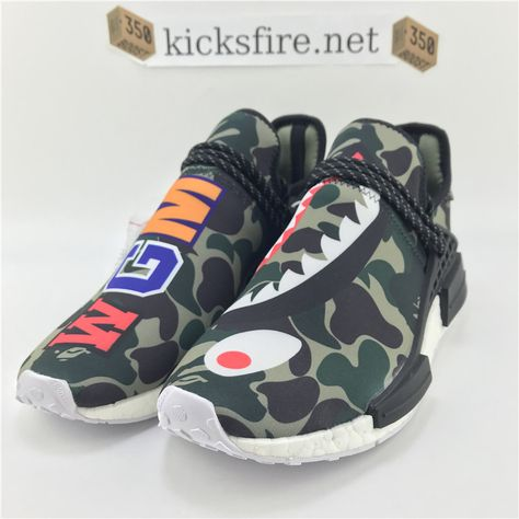 3059a24936b8 Adidas Pharrell Williams NMD X BAPE BB0623 From Kicksfire.net ...