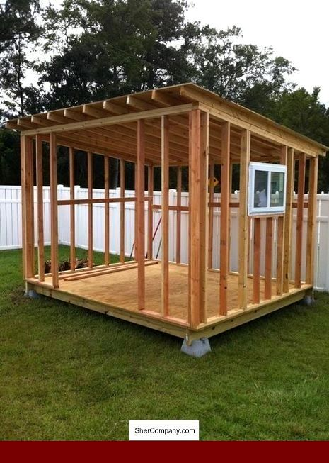 Free Shed Building Plans 12x16 And Pics