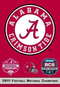 Alabama Crimson Tide Flag 2 Sided 2011 Football National Champions Banner In 2019 Products Alabama Crimson Tide Crimson Tide Crimson Tide Football