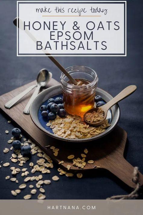 Epsom Bath Salt Recipes - Simple Yet Elegant For Gift Giving