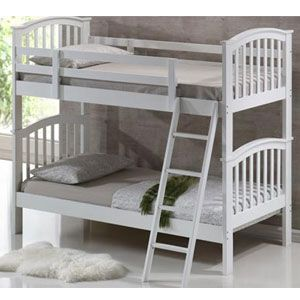 White 3ft Single Wooden Bunk Bed S Room Pinterest Beds And