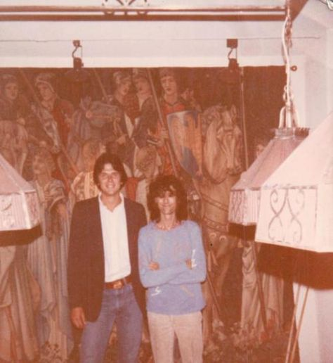 Probably 1982, in Mill House. (I think Jimmy is w/ Brian K. I wonder if, in '12,  he's still hounding Jimmy to sign this & sign that??  Is BK 6'7