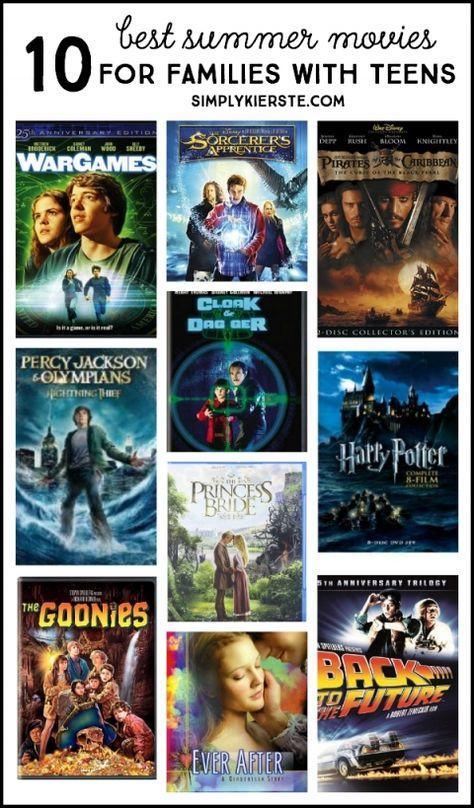 Best Summer Movies for Families | oldsaltfarm.com