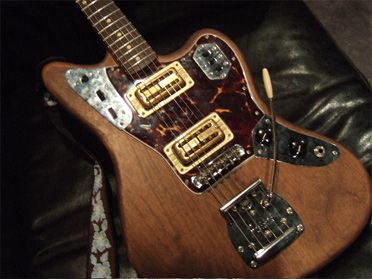 johnny marr this guitar was made for me by dennis galuszka at the White Jaguar Johnny Marr Playing Image