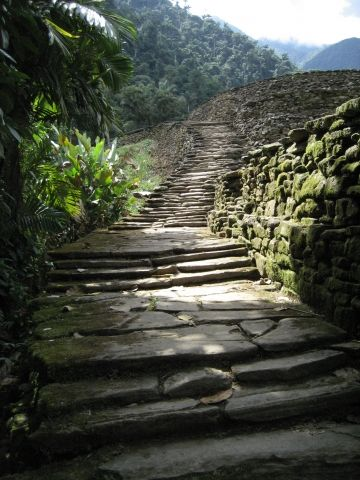 """Ciudad Perdida, Spanish for """"Lost City,"""" is one of Colombia's most spectacular cultural heritage sites."""