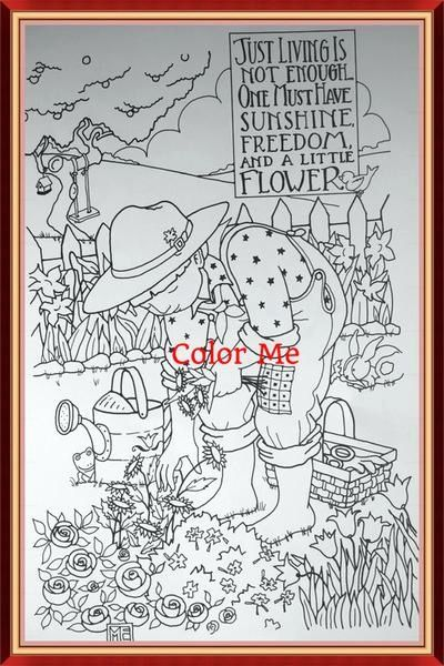 Coloring Page Downloads – Mary Engelbreit   600x400