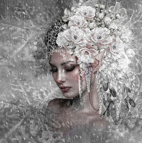 Beautiful women images in art