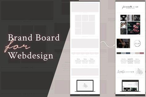 Brand Board Template: Jannete+co