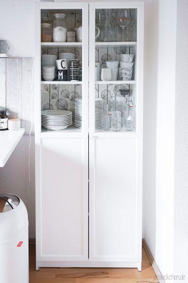Ikea Hack Vom Billy Regal Zum Kuchenschrank Im Scandi Stil In 2020 Kuchenschrank Ikea Billy Regal Ikea Ideen