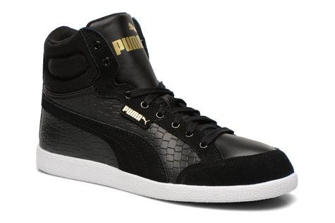 Schwarz Sneaker High Schuhe Damen Puma Ikaz Mid Dazz Ikaz