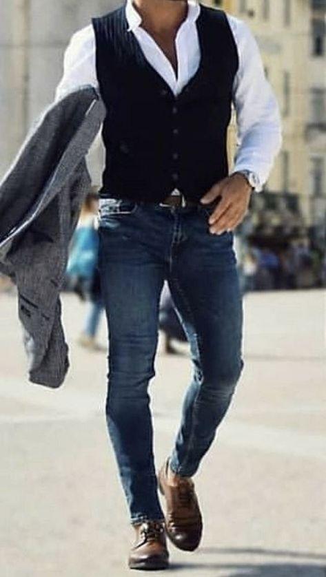Try this stylish men fashion attire for your next outing. #menfashion #menattire