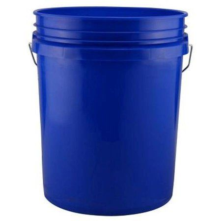 Industrial Bucket Dark Blue 5 Gallon Walmart Com Bucket Office Recycling Bins Pail