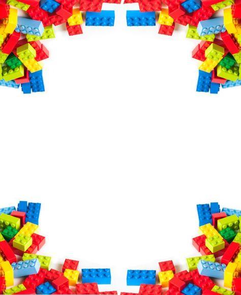 Lego Photo birthday party invitations | LEGO Birthday Party Ideas & Instructions - Invitations, Cake, Favors ...