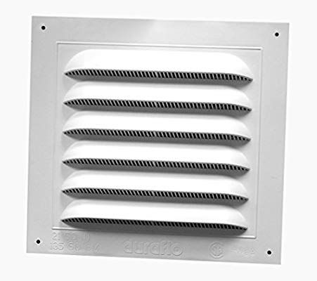 Duraflo 620808 Gable Vent 10 Inch X 10 7 8 Inch Gable Vents Wall Vents Shed Ventilation Ideas