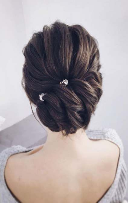 Hairstyles For Medium Length Hair Bridesmaid Wedding 49 Ideas Medium Length Hair Styles Updos For Medium Length Hair Braids For Medium Length Hair