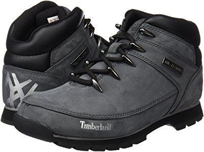 Timberland Herren Euro Sprint Hiker Chukka Boots, Grau (Grey