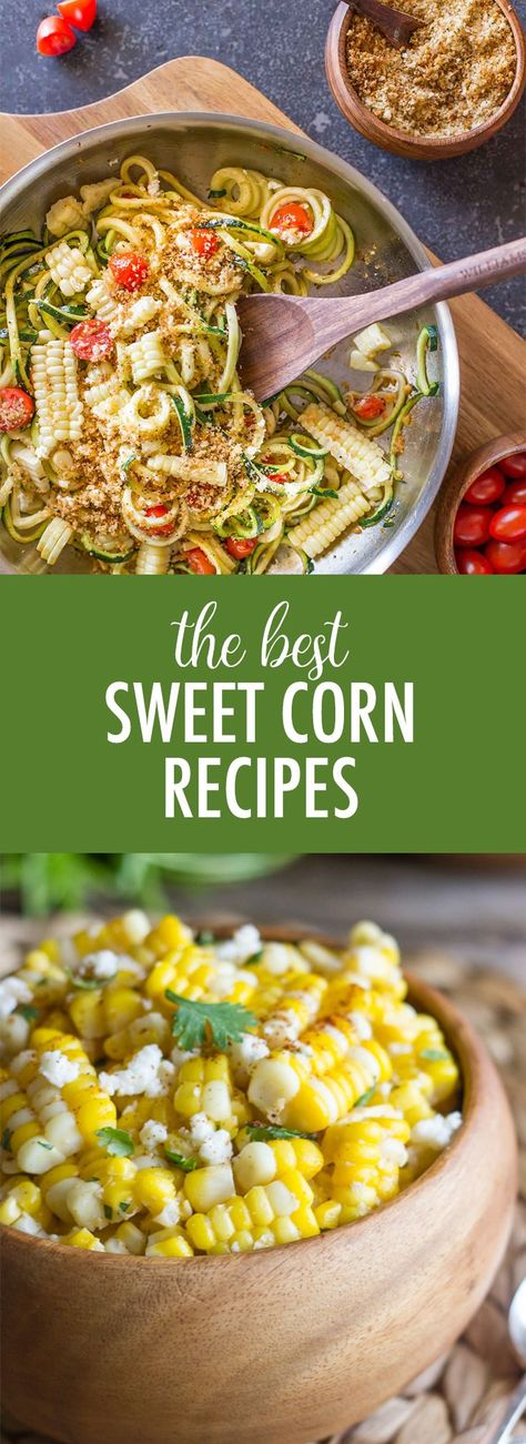 Celebrate summer right with the best sweet corn recipes from Lovely Little Kitchen! #sweetcornrecipes #sweetcorn #corn #summerecipes