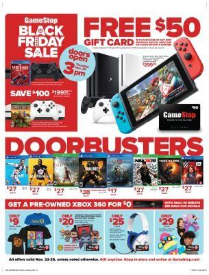 Gamestop Black Friday Ads Black Friday Black Friday Deals