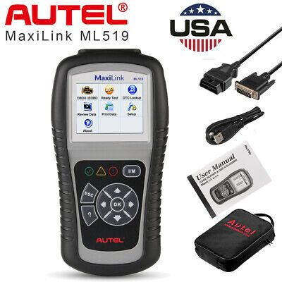 Details About Autel Ml519 Al519 Obd2 Auto Diagnostic Tool Can Eobd Code Reader Scanner Nt301 In 2020 Car Diagnostic Tool Diagnostic Tool