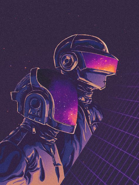 Daft Punk about Space Odyssey, Pixel Lime