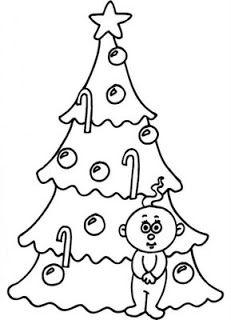 De Arvores De Natal Para Colorir Arvore De Natal Colorida