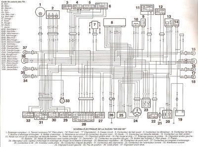 Suzuki Dr 650 Histoire D En Parler 7 La Fameuse Piece Outlet Wiring Diagram Floor Plans