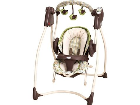 0cfeaa1ce Graco swing/bouncer duo. (although i have a black and white toile version)